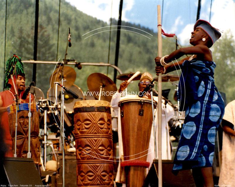 Baba Olatunji - August 15, 1987