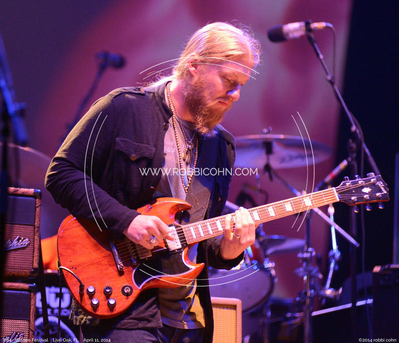 Derek Trucks, Allman Brothers Band - April 11, 2014