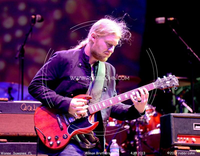 Derek Trucks, Allman Brothers Band - April 19, 2013