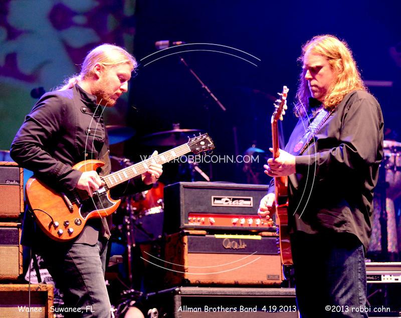 Derek Trucks, Warren Haynes, Allman Brothers Band - April 19, 2013