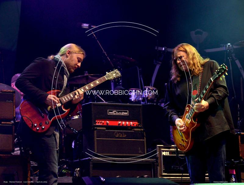 Derek Trucks, Warren Haynes, Allman Brothers Band - April 20, 2013