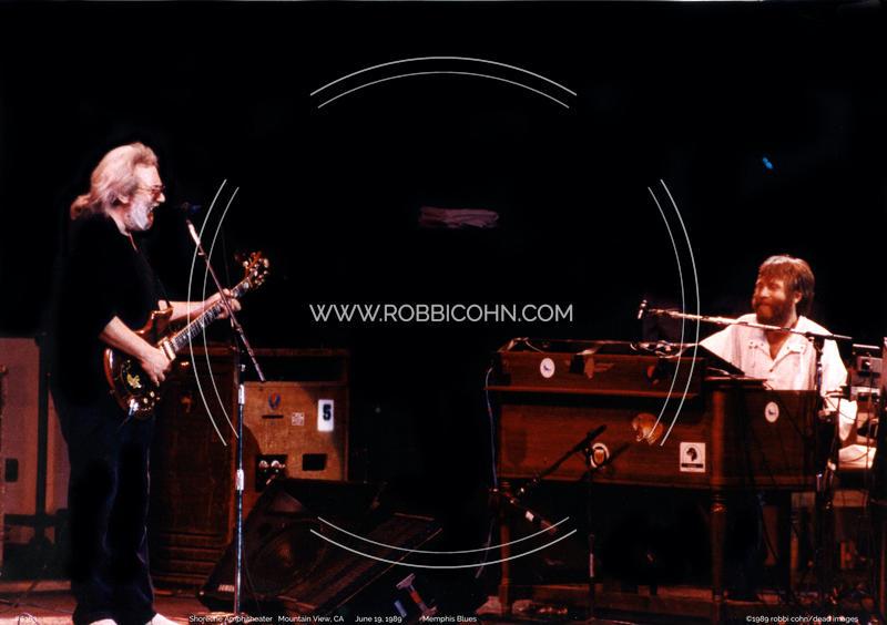 Grateful Dead, Jerry Garcia, Brent Mydland - June 19, 1989