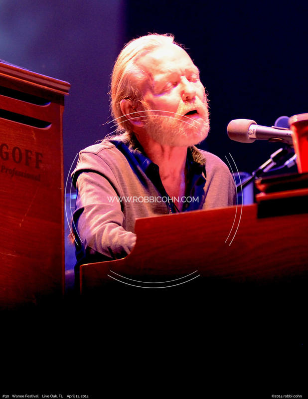 Gregg Allman, Allman Brothers Band - April 11, 2014