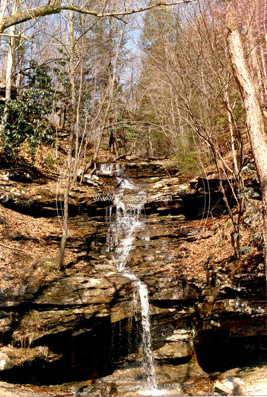 Hawk's Nest State Park - March 19, 1985