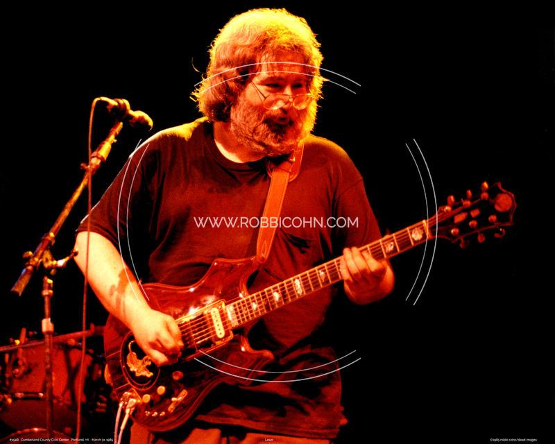 Jerry Garcia - March 31, 1985
