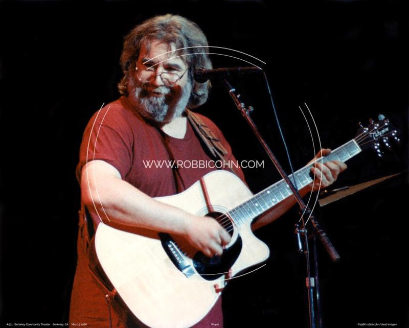 Jerry Garcia, Wavy Gravy Birthday Party - May 15, 1986