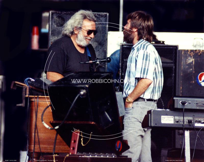 Jerry Garcia, Brent Mydland - June 15, 1990