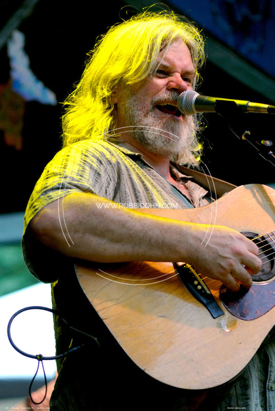 Leftover Salmon, Vince Herman - April 21, 2012