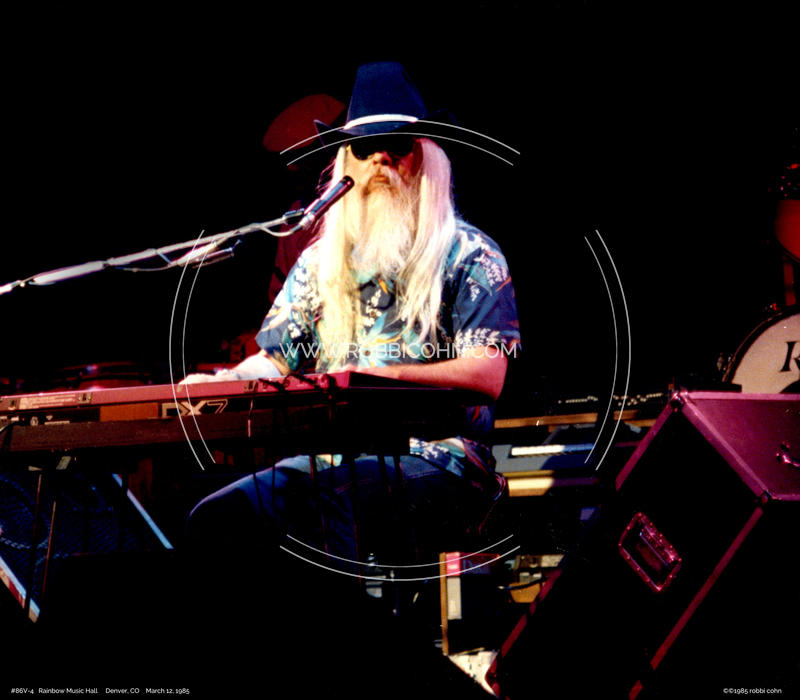 Leon Russell - March 12, 1985