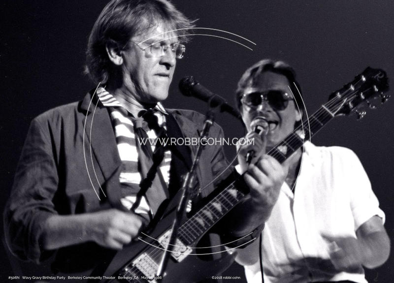 Marty Balin, Paul Kantner, KBC Band, Wavy Gravy Birthday Party - May 15, 1986