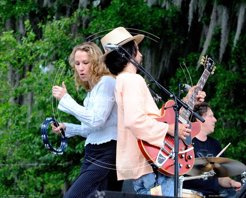 Trigger Hippy, Jackie Greene, Joan Osborne - April 21, 2012