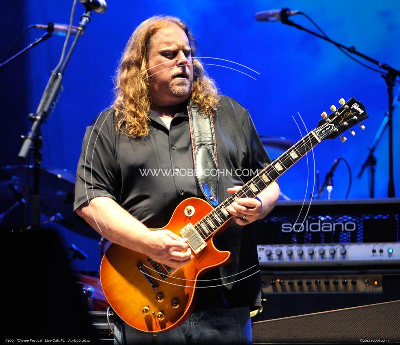 Warren Haynes, Allman Brothers Band - April 20, 2012