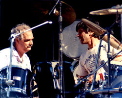 Billy Kreutzman, Mickey Hart - April 30, 1988