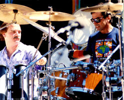 Billy Kreutzman, Mickey Hart - May 3, 1987