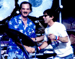Billy Kreutzman, Mickey Hart - September 6, 1985