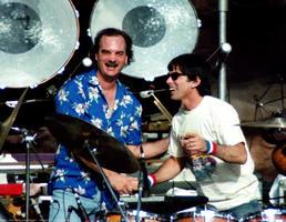 Billy Kreutzman, Mickey Hart - September 6, 1985